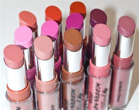 Lipstik Jordana Modern Matte new jordana modern matte lipsticks review and swatches honeygirl s world lifestyle