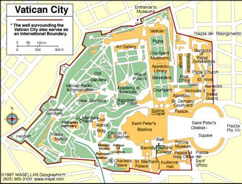 vatican city map atlas vatican city