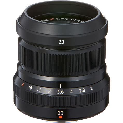 Fujifilm Fujinon Xf 23mm F2 R Wr Lensa Kamera fujifilm fujinon xf 23mm f 2 r wr