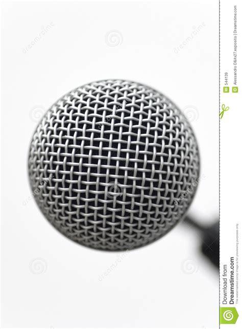 Shure Condenser Mic 7 1 White mic closeup stock image image of concert handheld