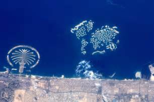 How To Go From Dubai To World Dubai S Map Of The World Islands As Seen From Space