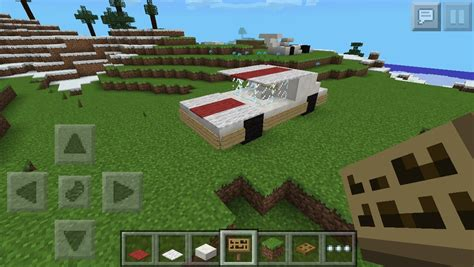 minecraft car that moves mcpe cars regular car