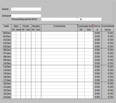 Work Hours Timesheet Gidiye Redformapolitica Co Hours Template
