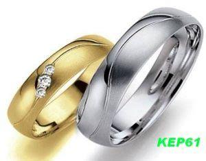 Cincin Kawin Emas Dan Palladium 1135 cincin kawin muslim palladium dan emas kep61 cincin kawin dan tunangan
