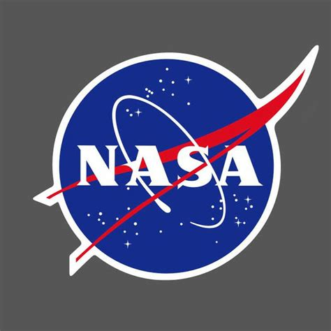 nasa logo vinyl sticker skateboard luggage laptop phone