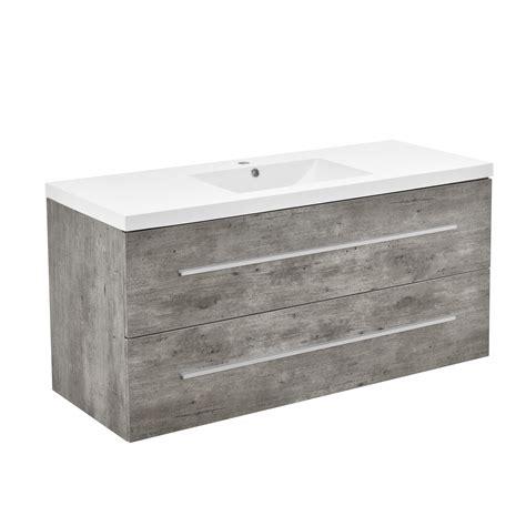 armadio da bagno neu haus 174 armadio da bagno armadio sotto lavabo cemento