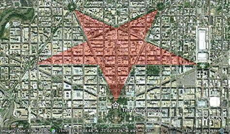 washington dc map secret secrets in plain sight part 1