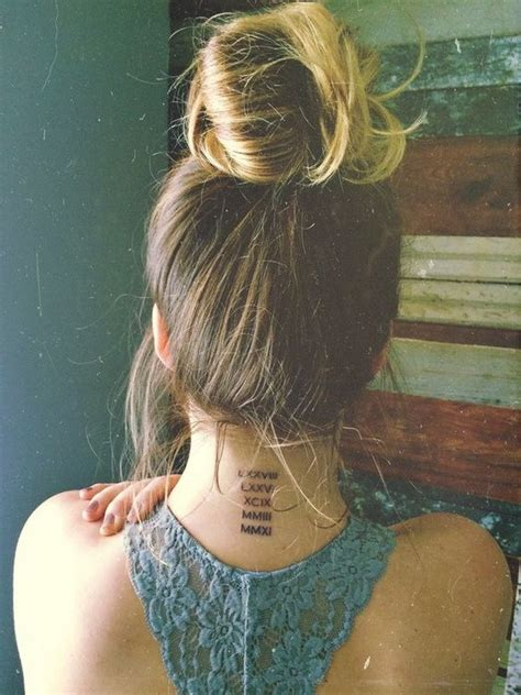 tattoo back of neck ideas 55 attractive back of neck tattoo designs for creative