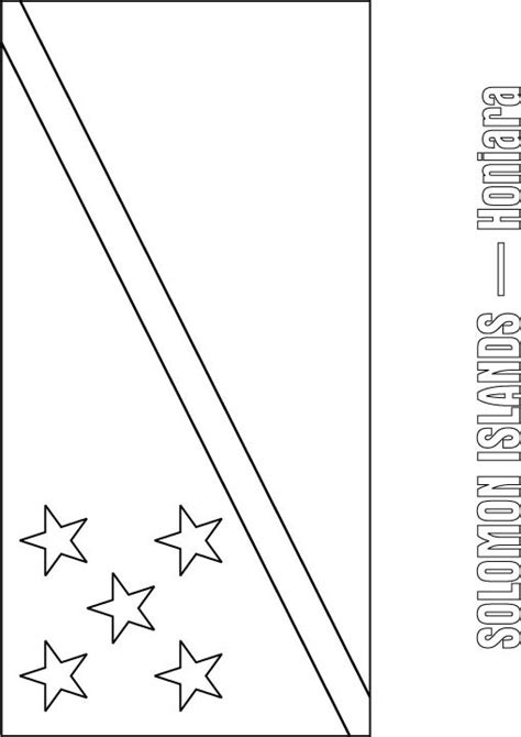 fiji flag coloring page coloring coloring pages