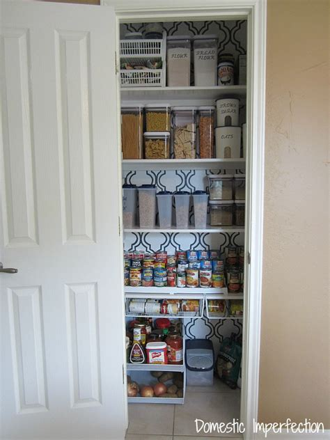 the less mess project pantry reveal domestic imperfection