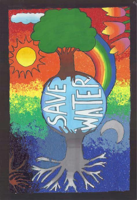 design contest art poster on water conservation by nayak miti bhadreshkumar