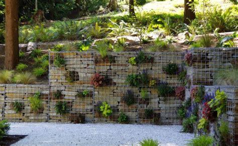 Small Concrete House Plans 15 Gabion Garden Landscaping Ideas Houz Buzz