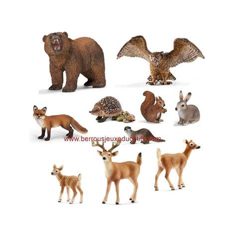 Animaux En E by Lot De 10 Figurines Animaux De La For 234 T Berrous Jeux