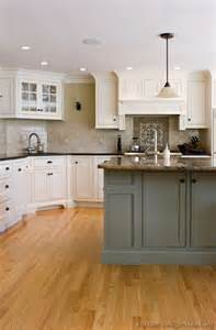 Two Tone Grey Kitchen Cabinets Kitchen Idea Of The Day Expand Your Color Palette With Two Toned Kitchens Kitchens Of The