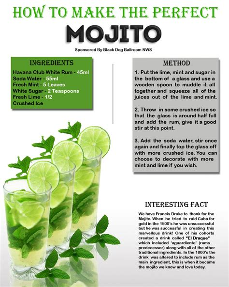 How To Make A by How To Make A Mojito Cocktail At Home