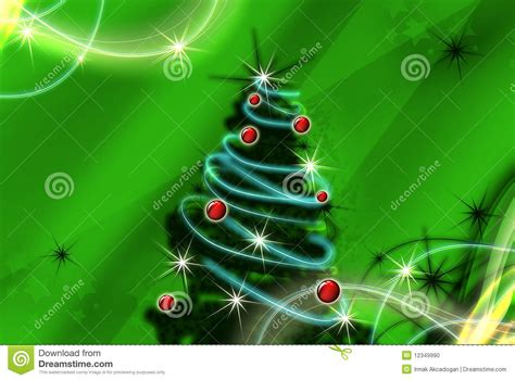 abstract christmas tree stock photo image 12349990