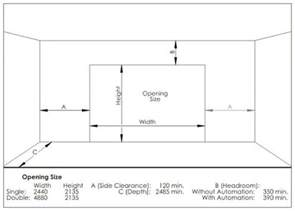 Overhead Door Sizes The Standard Garage Door Height Quora