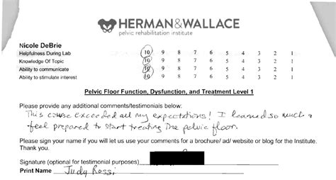 physical therapy pelvic floor continuing education herman wallace pelvic rehabilitation continuing