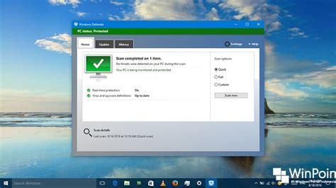 Tablet Versi Majalah Pulsa cara menemukan versi windows defender di windows 10 winpoin