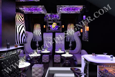 Club Lounge Chairs Design Ideas Project Cost Exle 3d Visualization Of Nightclub Project Design