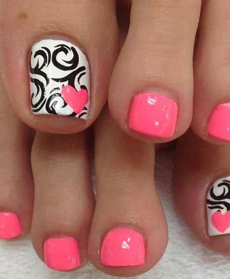 cool toe nail designs for summer nail designs 2017
