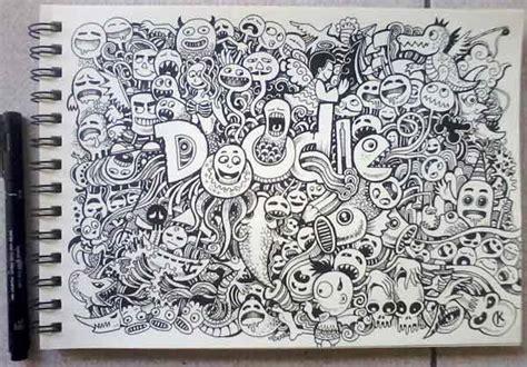 doodle keren 12 contoh gambar doodle keren grafis media