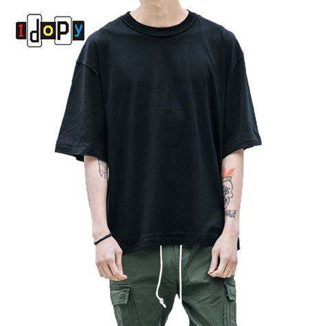 Kaos 10 Ordinal Apparel wholesale price oversized t shirt homme clothes t shirt hip hop tshirt streetwear mens fit