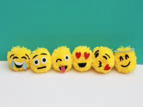 To make emoji ornaments will add instant personality to your tree