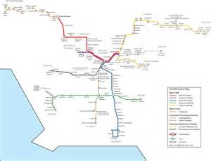 La Metro System Map by File System Map Future Of The Los Angeles County Metro
