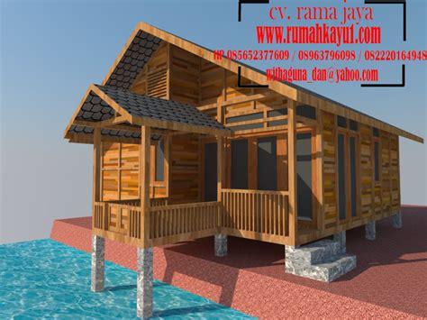 layout rumah kayu desain rumah kayu design rumah kayu disain 3d