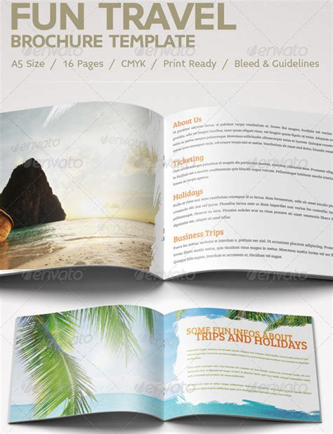 30 best travel and tourist brochure design templates