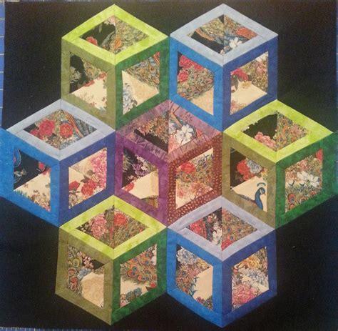 Tumbling Blocks Patchwork - you to see july tumbling blocks by mamathadeus