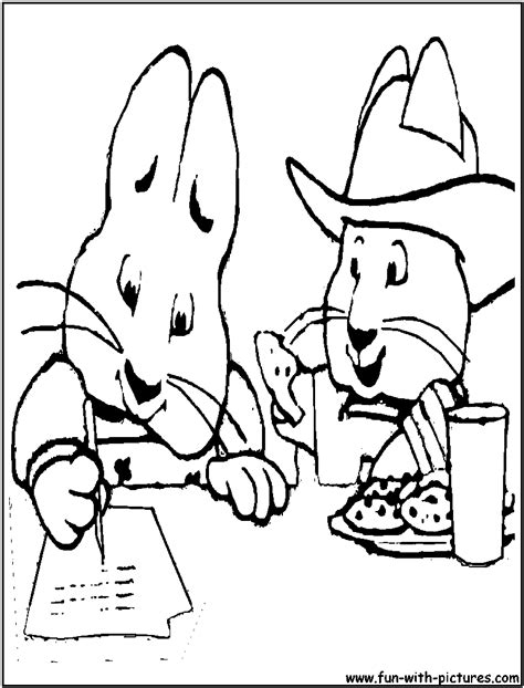 Max And Ruby Coloring Pages Free Printable Colouring Max And Ruby Coloring Pages To Print