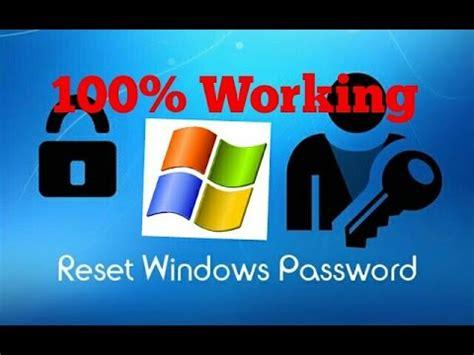 reset password windows xp youtube any windows password reset 100 working on 2000 xp