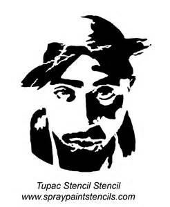 2pac Outline by Stencil Requests For May 2007