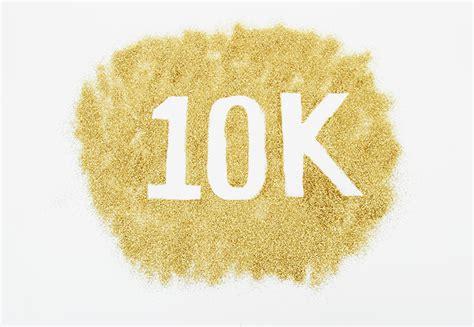 To 10 K by We Celebrate Reaching 10k Followers On Instagram
