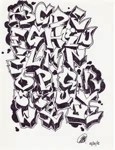 graffitie alphabet graffiti