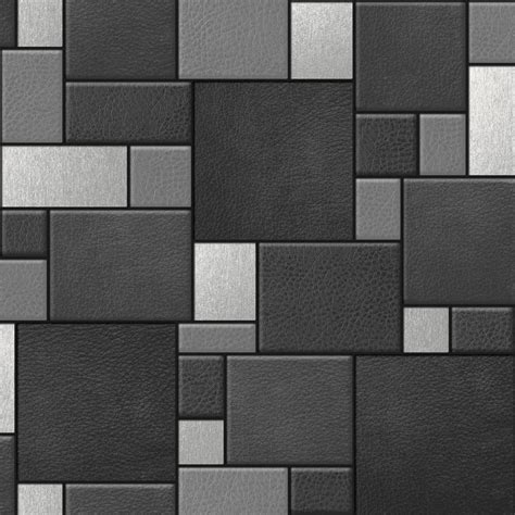 Wallpaper For Wall Tiles | designer wallpaper leather tiles koziel f957 murivamuriva