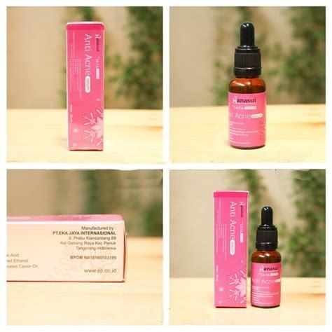 hanasui serum anti acne original bpom pusat stokis