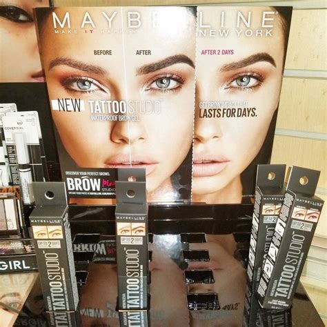 tattoo brow maybelline tutorial 433 best beauty on a budget images on pinterest hair