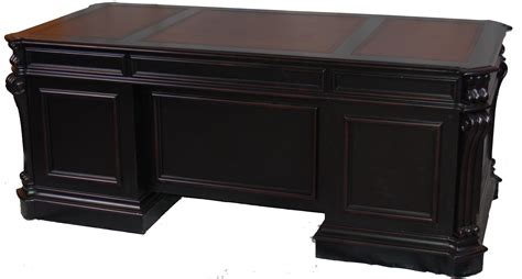 Alchemist Large Black Executive Office Desk Ebay Executive Desk