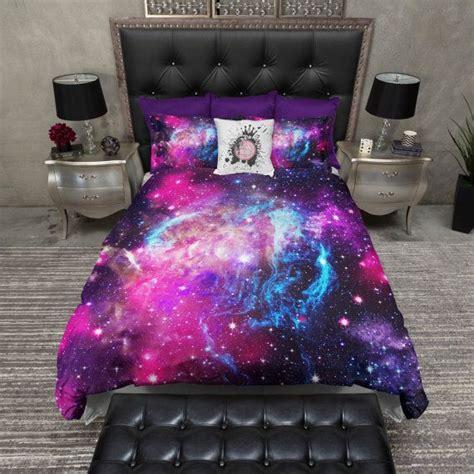 stock lightweight twin galaxy duvet cover   inkandrags room decor galaxy bedding