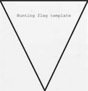 Bunting Template by Flag Bunting Template