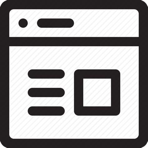 design ui icon browse browser design internet internet browser net