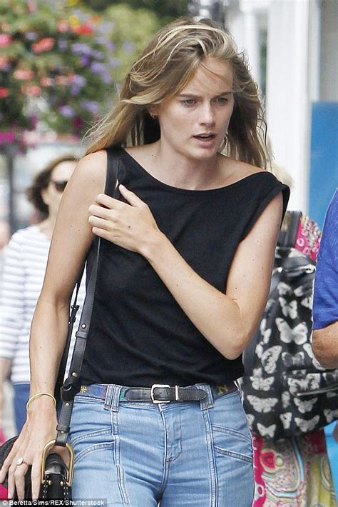 chelsea daily mail cressida bonas strolls through chelsea with her mother