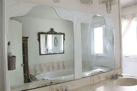 builder grade bathroom mirror hometalk builder s grade mirror turned trumeau mirror