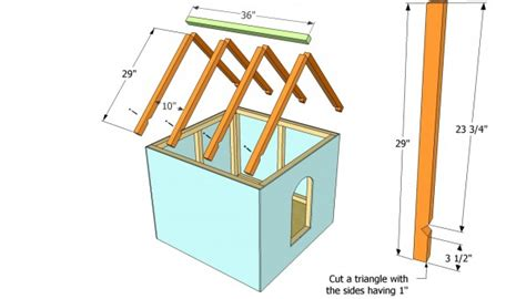 dog house roof materials simple dog house plans myoutdoorplans free woodworking plans and projects diy