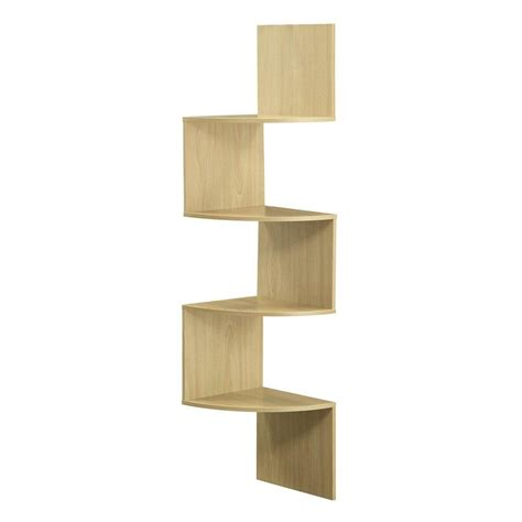 modern 4 shelf bookcase bookshelf display shelves home office living room bedroom home decor 4ft modern 4 tier corner wall shelf hanging storage display home decor 4 colors ebay
