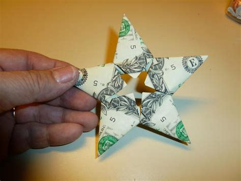 Origami Money Holder - embellished post it note holder allfreechristmascrafts