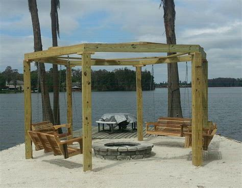 fire pit and swings swings and fire pit for the home pinterest
